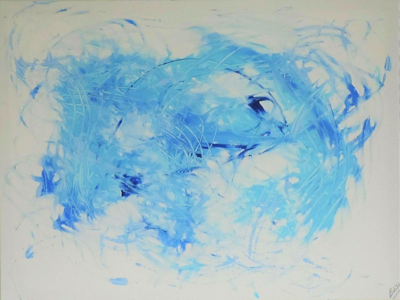 L'éléphanteau bleu